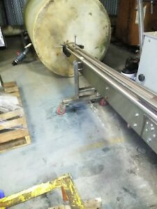 Table Top Chain Conveyor Ascending descending 5 5 w X 15 25 l Portable