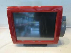 Posligne Olc 15 Red Aures Pos Touchscreen Monitor W Card Reader 4810251