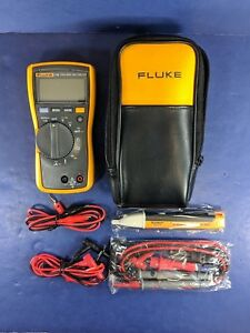 Fluke 116 Trms Multimeter Excellent Screen Protector Soft Case