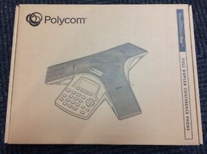 Polycom Soundstation Duo Conference Voip Phone W power Interface 2200 19000 001