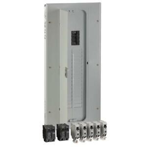 Ge 200 Amp 32 space 40 circuit Indoor Load Center Combination Arc Fault Kit