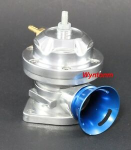 Type Rs Turbo Polished Blow Off Valve Bypass Dv Bov Aluminum Weld On Flange