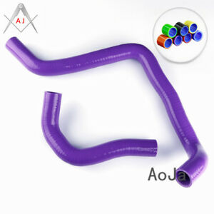 Purple Pipe Silicone Inlet Turbo Intake Hose Kit Fit For 1994 2001 Acura Integra