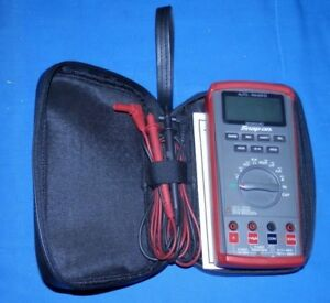 Snap On Eedm504d Auto Range Multimeter W case Free Shipping