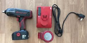Snap On 18v Impact Gun And Torch