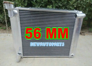 Aluminum Radiator For Mg Mga 1500 1600 1622 De Luxe Mt 1955 1962 58 59 60 61