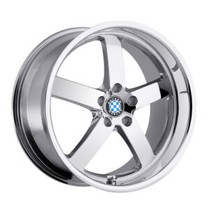 Beyern Rapp Rim 18x8 5 5x120 40 Chrome Qty Of 4