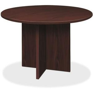 Hon X base Round Conference Table 29 5 Material Thermofused Laminate