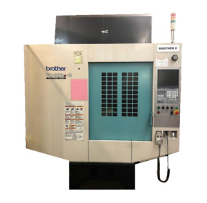 Brother Tcs2dno 5 Axis Cnc Vertical Machining Center
