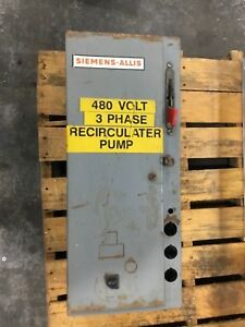 Siemens allis Xlf 1dc1 j r1u 36 Disconnect Switch Combination Starter Box 994dk