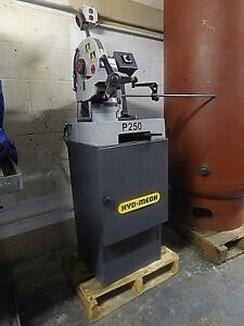 Hydmech P250 Circular Cutting Cold Saw W clnt Sys For Ferrous Metals 1owner