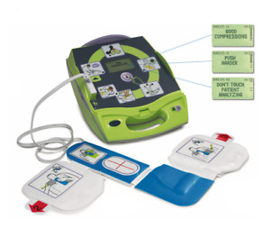Zoll Aed Plus Semi Automatic 2 Year Warranty With New Cpr d Pads