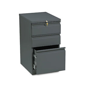 Hon Efficiencies Mobile Pedestal File W one File two Box Drawers 19 7 8d