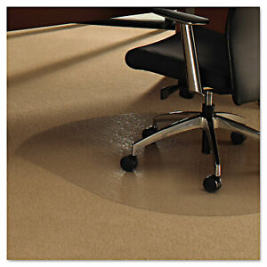 Floortex Cleartex Ultimat Polycarbonate Chair Mat For Low medium Pile Carpet 49
