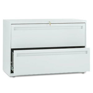 Hon 700 Series Two drawer Lateral File 42w X 19 1 4d Light Gray 792lq