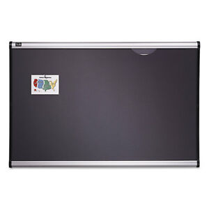 Quartet Prestige Bulletin Board Diamond Mesh Fabric 36 X 24 Gray aluminum Frame