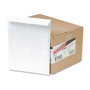 Survivor Dupont Tyvek Air Bubble Mailer Self Seal 10 X 13 White 25 box R7545