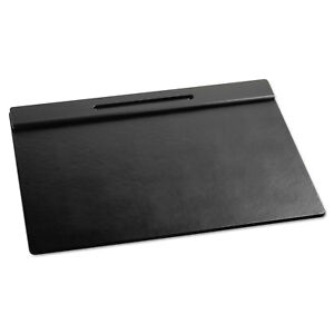 Rolodex Wood Tone Desk Pad Black 21 X 18 62540
