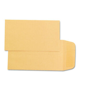 Quality Park Kraft Coin Small Parts Envelope 1 2 1 4 X 3 1 2 Brown Kraft 500