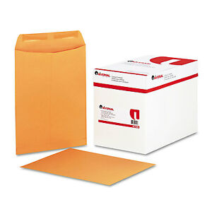 Universal Catalog Envelope Center Seam 9 X 12 Brown Kraft 250 box 41105