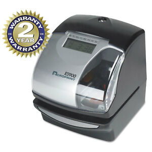 Acroprint Es900 Digital Automatic 3 in 1 Machine Silver And Black 010209000