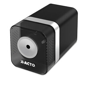 X acto Power3 Office Electric Pencil Sharpener Black 1744