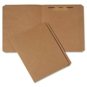 Skilcraft File Folder 1 1 2 Fastener Straight Cut Ltr 100 pk Kft 8893555