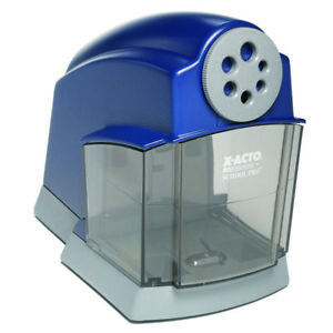 X acto Pencil Sharpener Electric School Pro Blue gray 1670