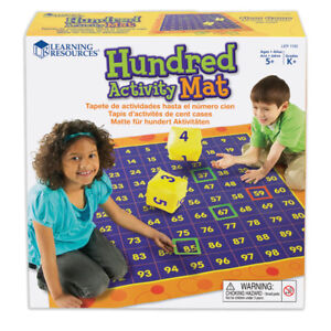 Learning Resources Hip Hoppin Hundred Mat 1100