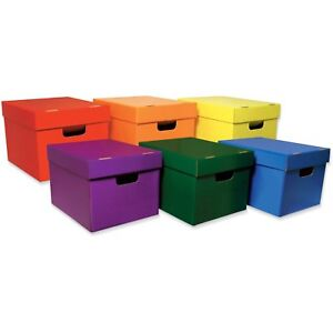 Pacon Storage Toes 10 1 8 x12 1 4 x15 1 4 6 ct Assorted 001333