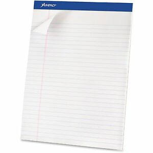 Tops Products Perforated Pad Legal 50 Sheets pad 8 1 2 x11 3 4 We 20360