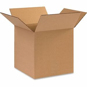 Box Partners Shipping Boxes 12 x12 x12 25 pk Kraft 121212bx