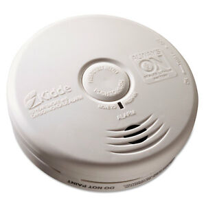 Kidde Kitchen Smoke carbon Monoxide Alarm Lithium Battery 5 22 dia X 1 6 depth