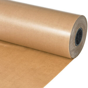 Box Partners Waxed Paper Rolls 24 Kraft 1 roll Wp2430