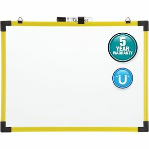 Quartet Magnetic Industrial Whiteboard W marker 18 x24 Yw 724120