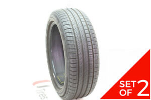 Set Of 2 Used 225 50r18 Pirelli Cinturato P7 Run Flat 95v 7 32