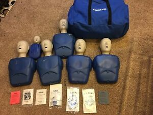 Lot Cpr Prompt 5x Adult child And 1x Infant Cpr Training Manikin Value Pack 1