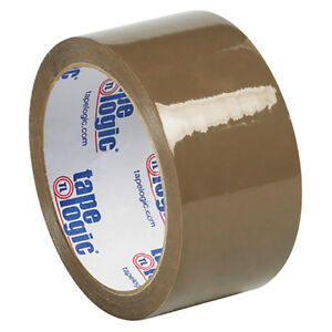 Tape Logic 53 Pvc Natural Rubber Tape 2 1 Mil 2 X 55 Yds Tan 36 case T90153t