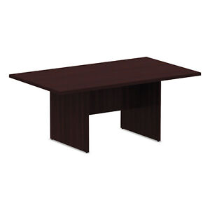 Alera Valencia Series Conference Table Rectangle 70 7 8wx41 3 8dx29 1 2h