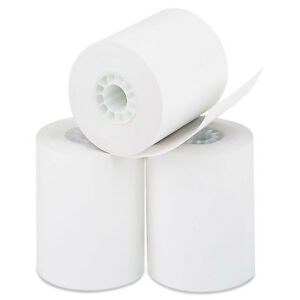 Pm Company Direct Thermal Printing Thermal Paper Rolls 2 1 4 X 85 Ft White 50