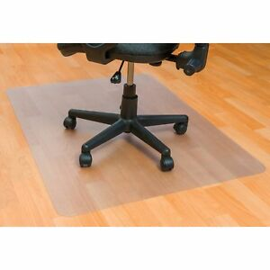 Floortex Chairmat Rectangular Hard Floor 30 wx48 lx1 10 h Clear Fceco123048e