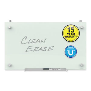 Quartet Infinity Magnetic Glass Dry Erase Cubicle Board 14 X 24 White Pdec2414