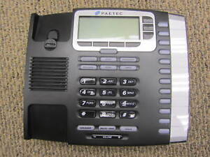 Group Of 6 Paetec 9212 12 Button Display Ip Voip Poe Telephone