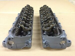 87 93 Ford Mustang Stock Gt 302 Ho Engine Cylinder Heads Machined Rebuilt E7te