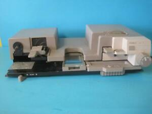 Minolta Microfiche Film Reader 16mm Or 35mm Model Uc 1 Tested Used Works Great