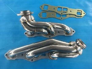 Oldsmobile 455 Big Block 4 Speed Fitted Headers Thornton New Design Exhaust