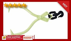 Timber Tuff Skidding Tongs Swivel Grab Long Lasting Sharpness Powder Coated New