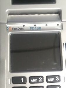 First Data Fd130 175r Credit Card Terminal Pos Point Of Sale Machine