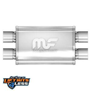 Magnaflow 11386 2 5 Inlet outlet Stainless Steel Muffler For 10 15 Chevy Camaro