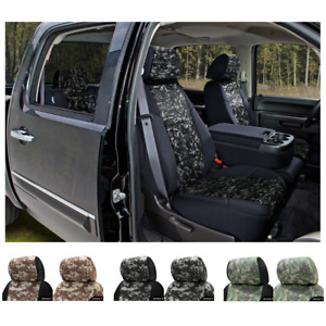 Coverking Digital Camo Custom Fit Seat Covers For Nissan Titan